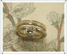Aanschuifringen, diamant ringen, witgouden diamant ring, goud