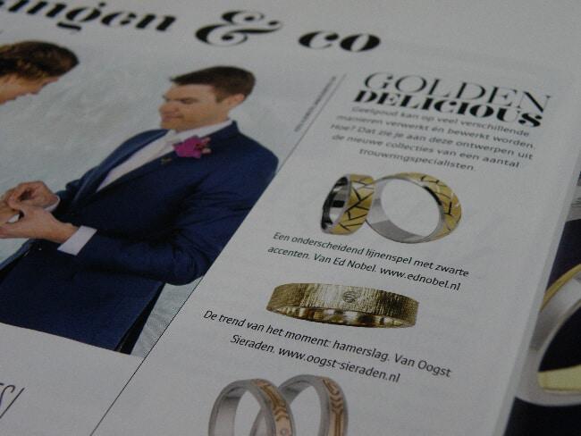 Oogst in magazine Bruid & Bruidegom, lente 2015