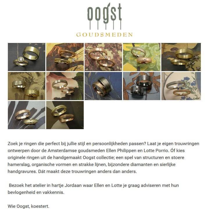 Amsterdamse bruiloft Blog -Tip: Oogs