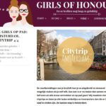 Girls of honour Blog citytrip Amsterdam, Oogst getipt. Sept 2016