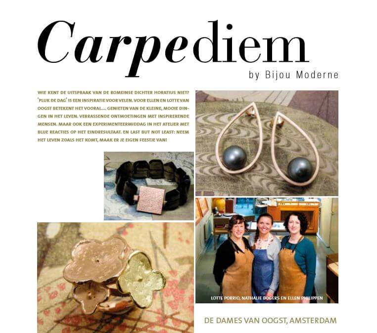 Oogst interview voor Carpe Diem in de Jeweline