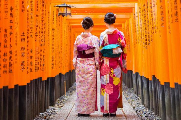 Oogst Japonais collecties geishas