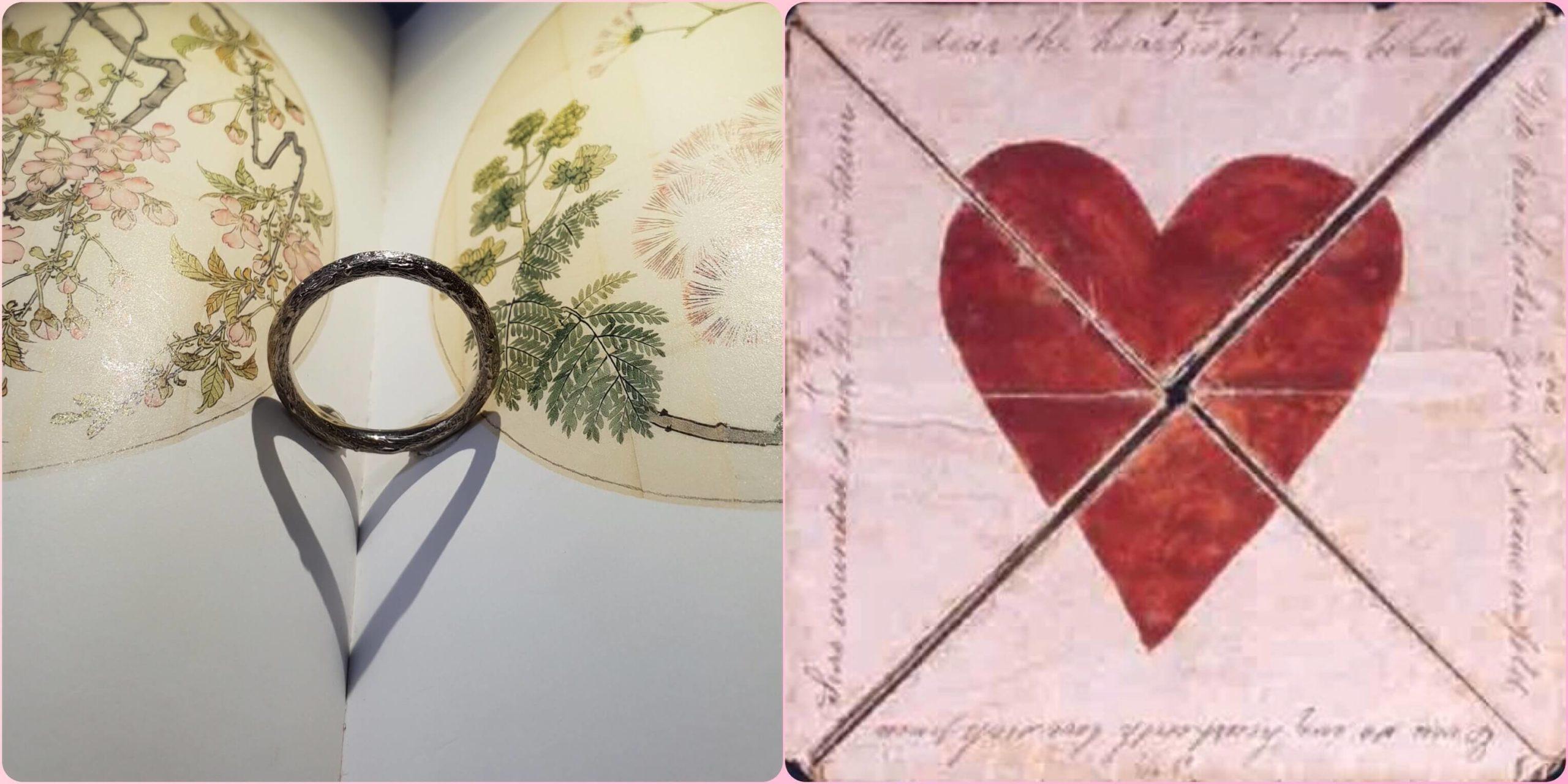 Symbolische sieraden voor Valentijnsdag