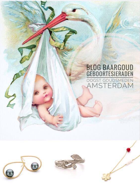 blog baargoud geboortesieraad vintage geboortekaartje
