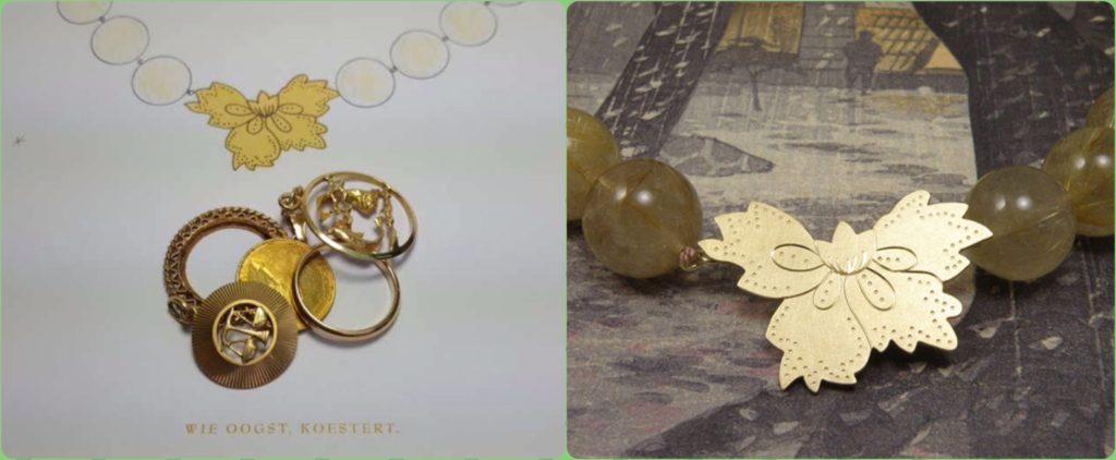 Blog over sieraden van oud goud en goud omsmelten. Goudsmid Oogst Amsterdam.