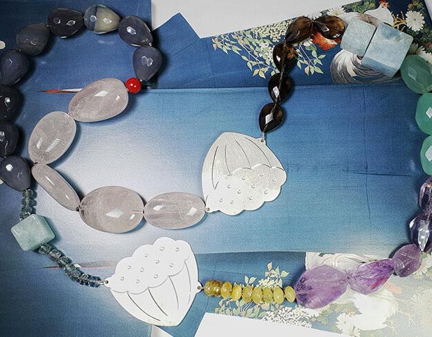 collier japonais * tempeltuin boom * 1320,-