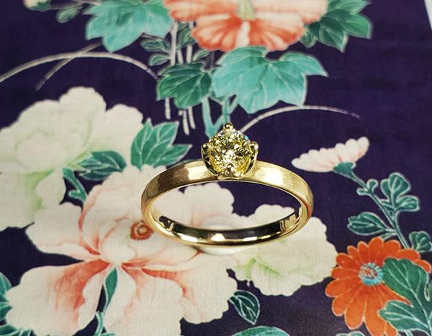 verlovingsring boomgaard * diamant: geoogst