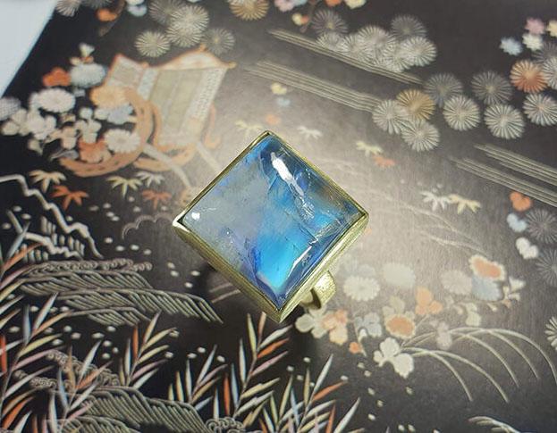 verlovingsring ritme * diamant: geoogst