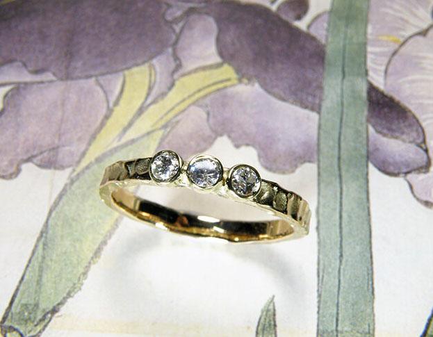 eenvoud ring * citrien * maatwerk voor marijke