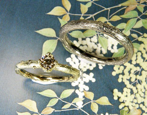 collier japonais * bloesem toermalijn: geoogst