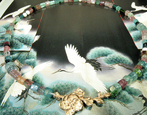 collier japonais * kamon morganiet: geoogst