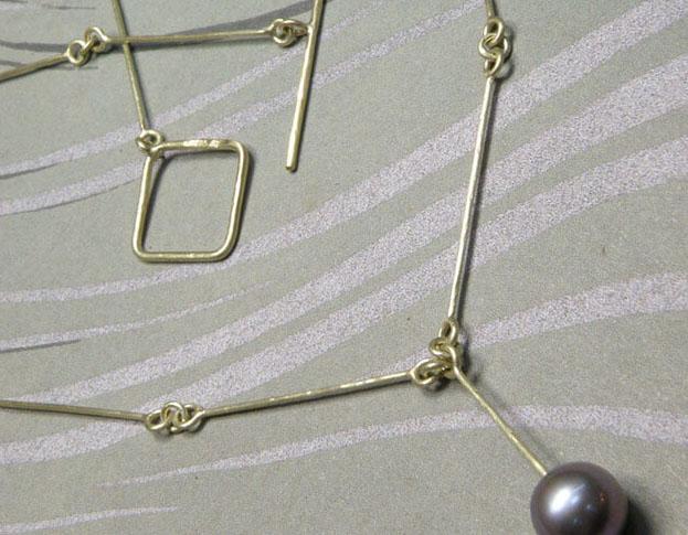 parel collier * maatwerk voor annemarie