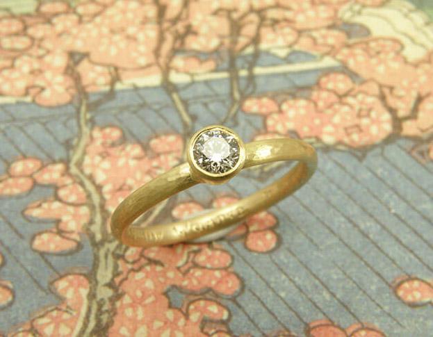 verlovingsring eenvoud * maatwerk voor emmanuel
