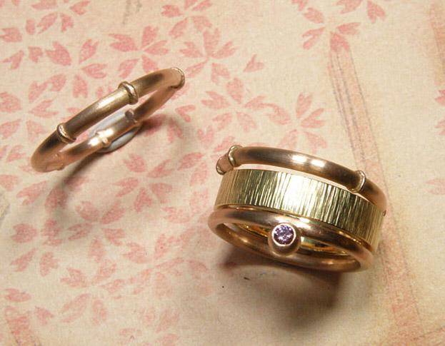 ring ginkgo * maatwerk voor isabelle