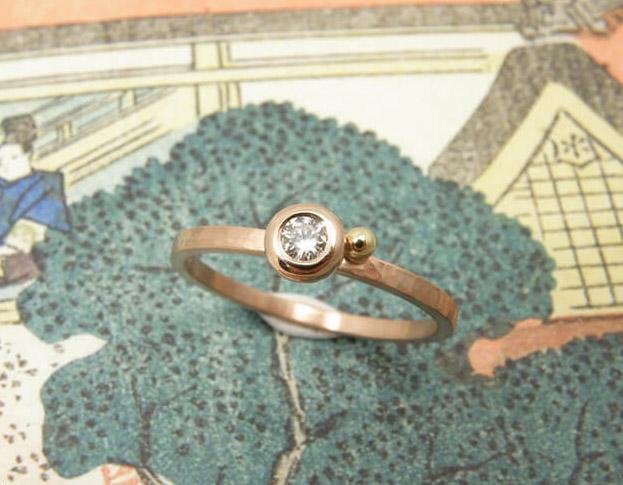 verlovingsring boleet * diamant: geoogst