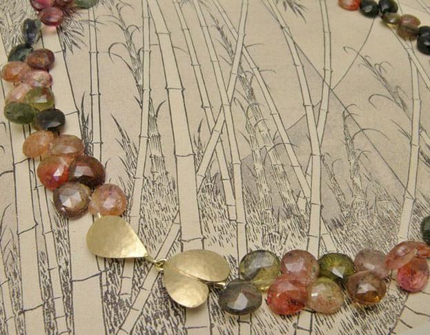 toermalijn collier * maatwerk voor olga & rogier