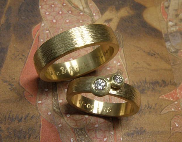 ring ton sur ton diamant * maatwerk voor anja