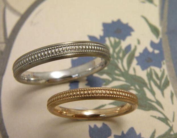 trouwringen ritme / rhythm wedding rings * 870,- & 1060,-