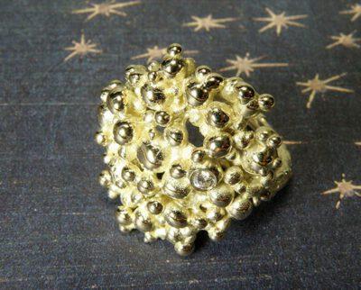 Geelgouden Ring Bessen XL Oogst goudsmid Amsterdam