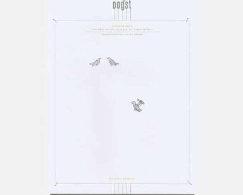 Schets voor Zilveren vogeltjes manchetknopen. Sketches for the silver bird cufflinks. Uit het Oogst atelier Amsterdam.