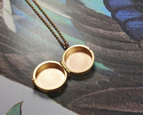 Roségouden medaillon Japonais. Hanger. Pendant rose gold Medaillion. Oogst goudsmid Amsterdam