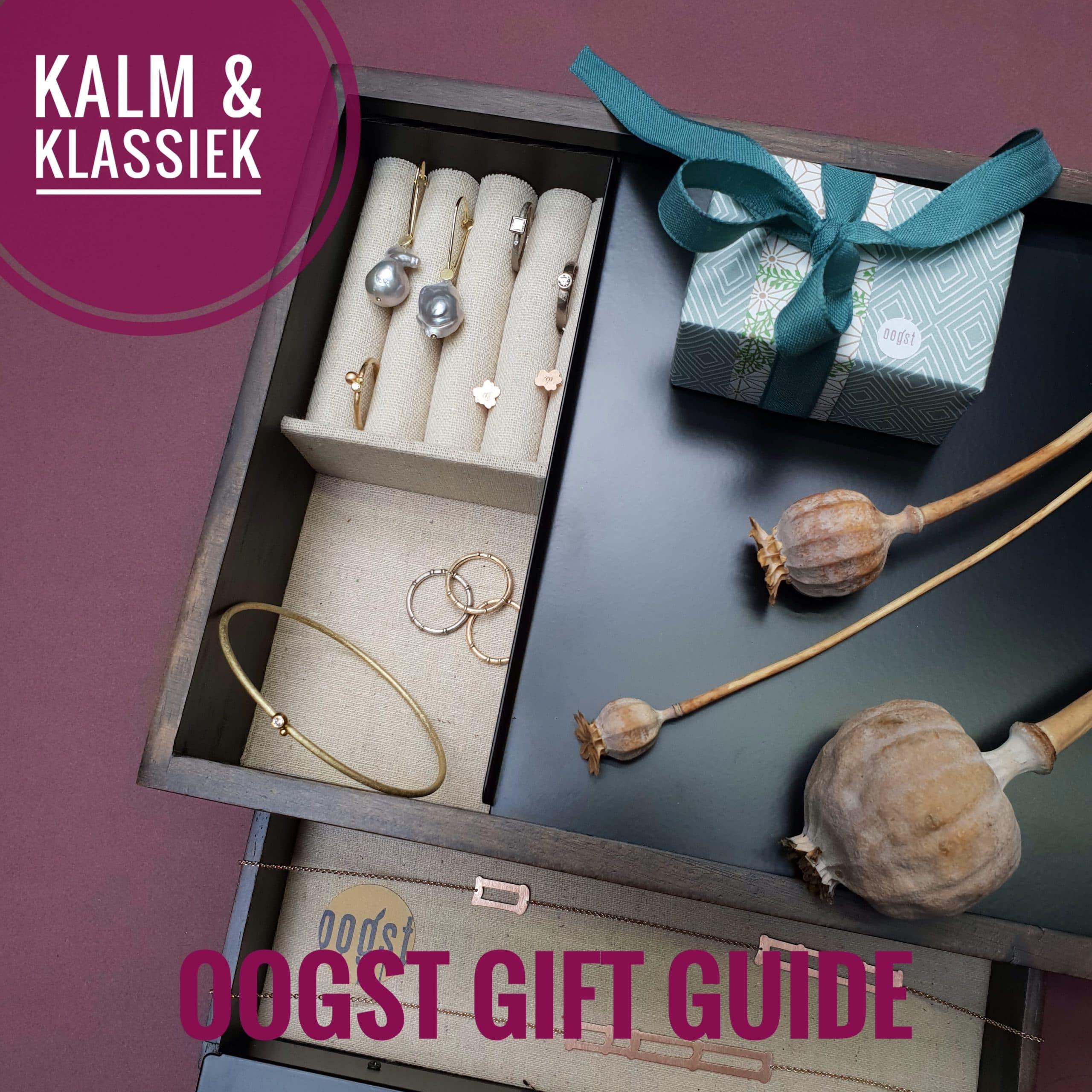 Gift Guide Oogst goudsmid Amsterdam voor het Klassieke type, die van kwaliteit en tijdloos design houdt