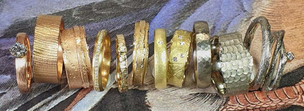 Oogst handgemaakte trouwringen. Goudsmid Amsterdam. Oogst wedding rings. Handmade. wedding bands