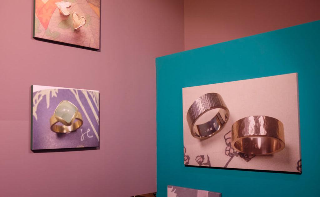 Goudsmid atelier Oogst Amsterdam, de winkel
