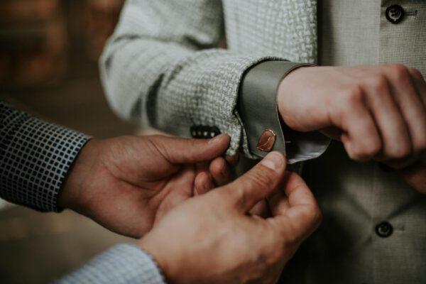 manchetknopen bruidegom sieraad Oogst goudsmeden StancePhotography