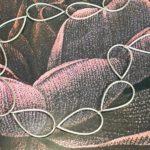 Zilveren Druppels collier. Silver Drops necklace. Oogst goudsmid Amsterdam. Independent jewellery designer.
