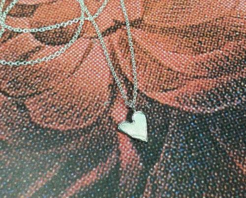 Silver Heart pendant. Oogst goldsmith Amsterdam