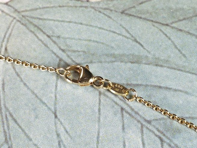 Clasp on the anchor chain, Oogst goldsmith Amsterdam