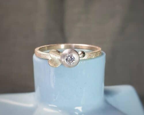 Verlovingsring met diamant